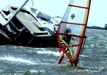 First year windsurfing