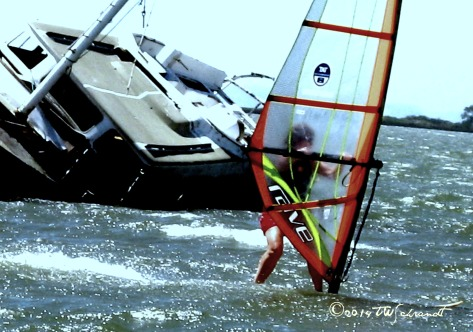 First year windsurfing