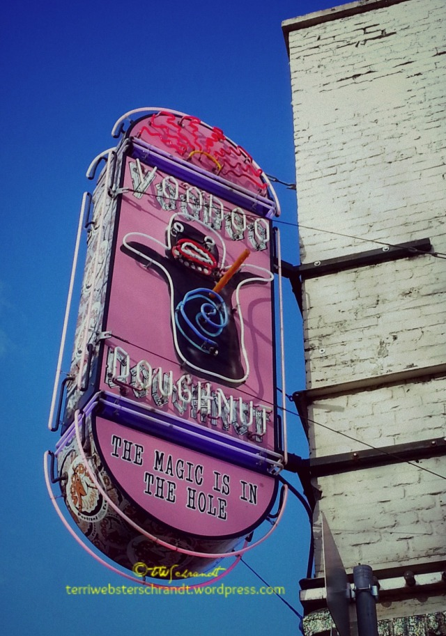 VooDoo Donut Sign
