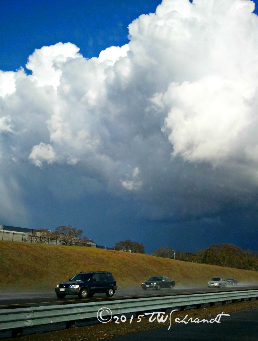 Rain-clouds