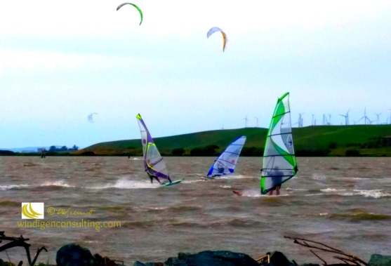 April Windsurfing