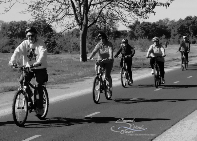 Cyclists-in-Black-and-White