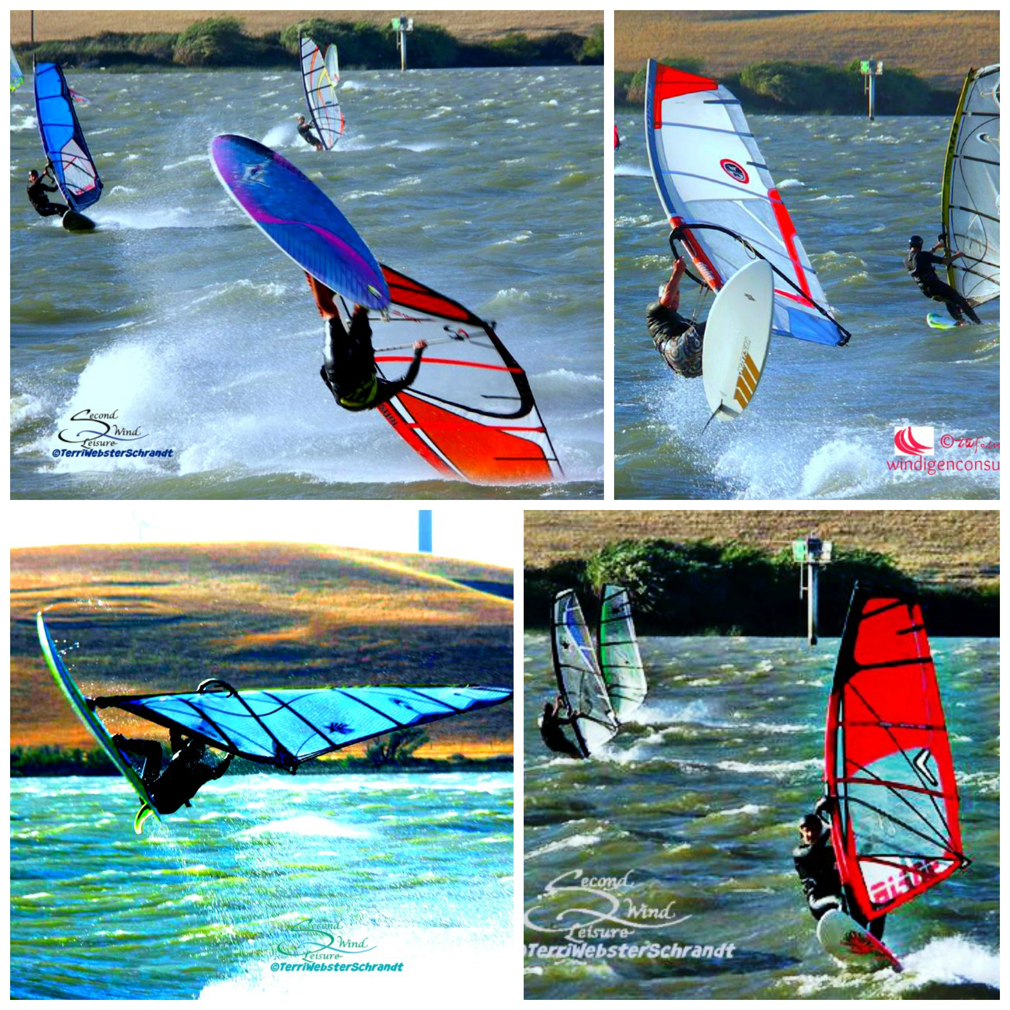 Windsurf-Collage