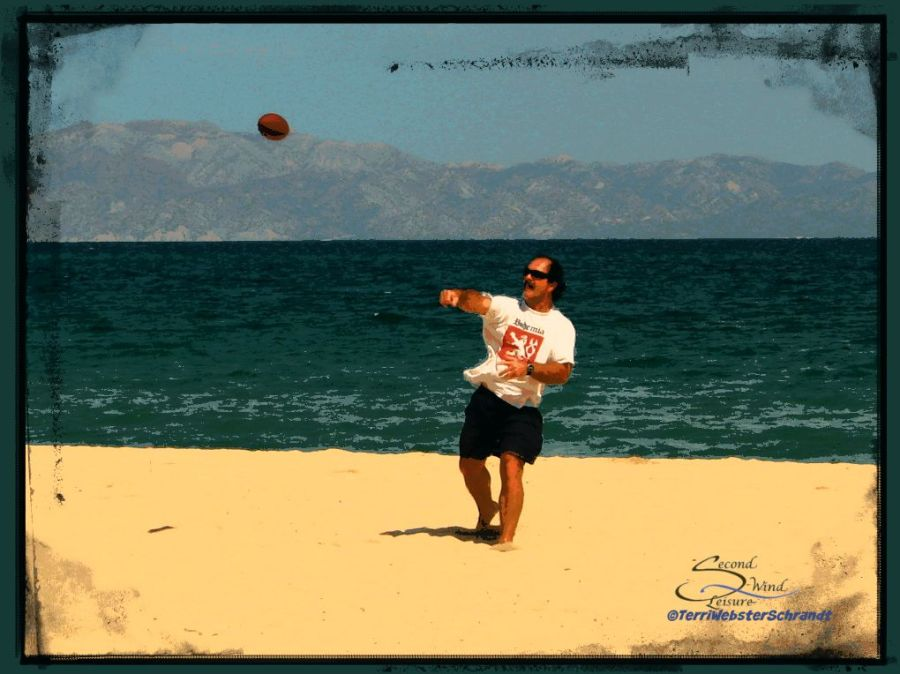 Throwing-football