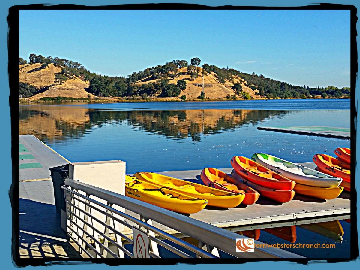 Calm waters beckon kayaks