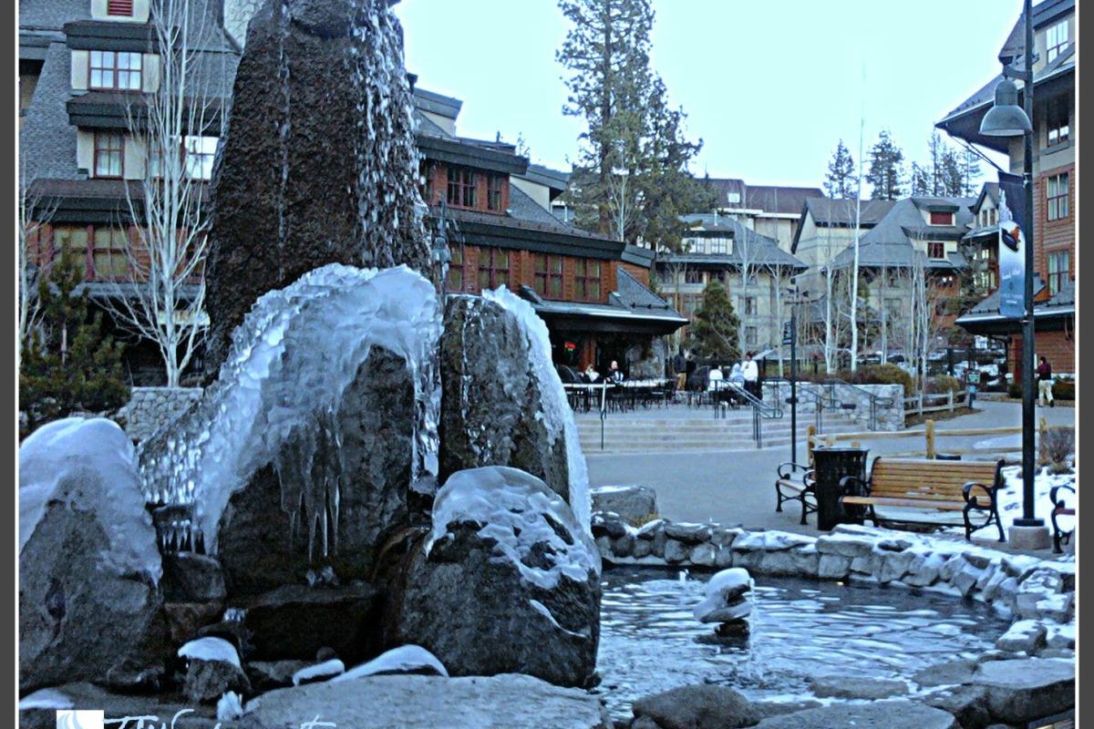 Cold December in Lake Tahoe