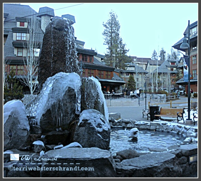 Cold December in Lake Tahoe