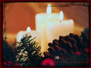 advent candles for Christmas season