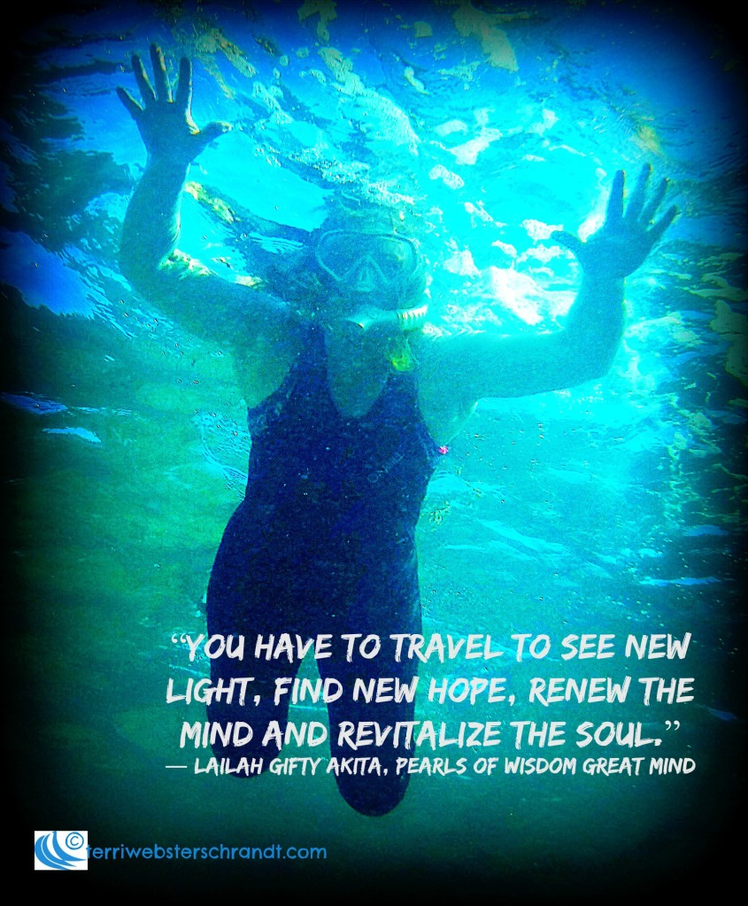 Travel to find new hope and renew the mind