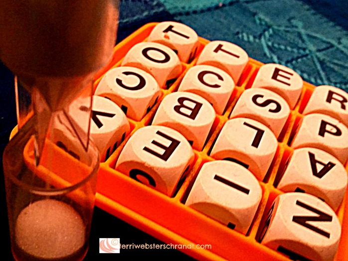 Time for a game of boggle.