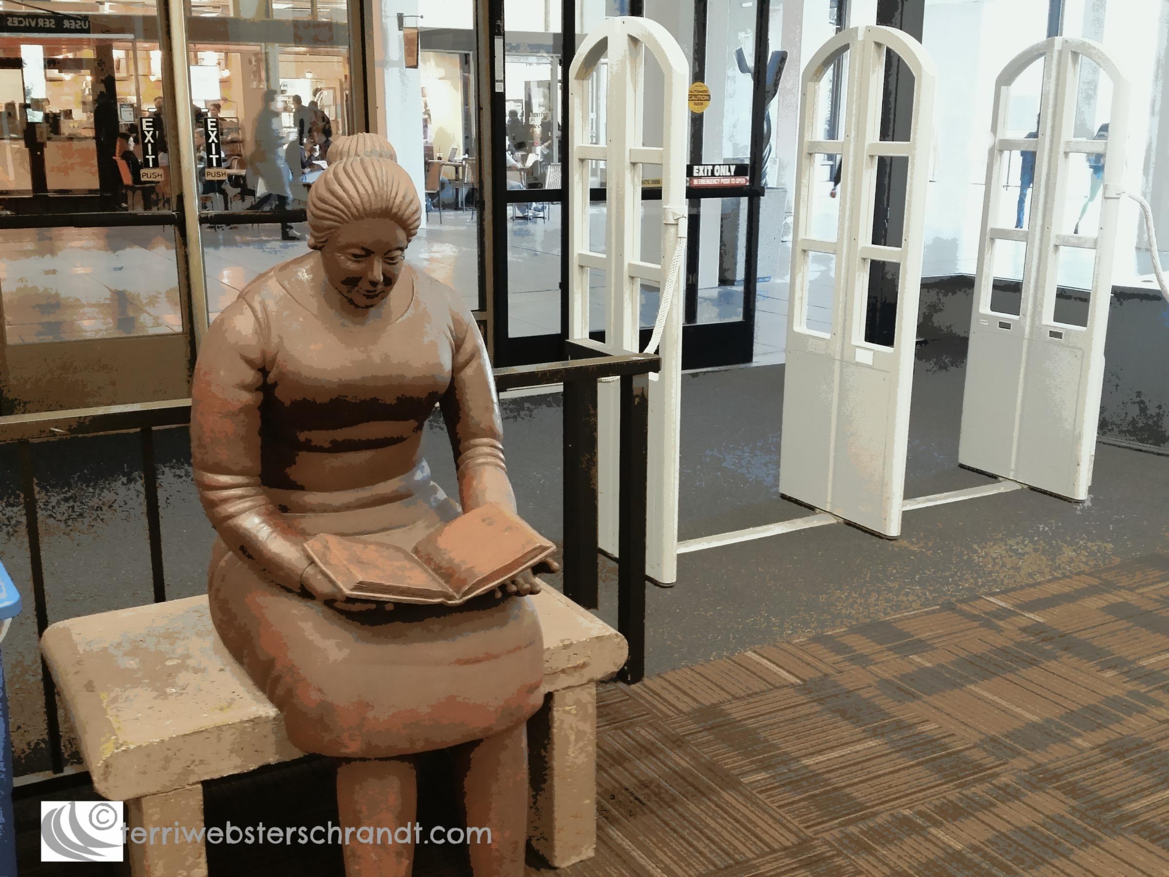 Doors to knowledge open here