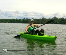 Me with Aero and new kayak