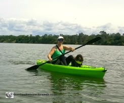 Me with Aero and new kayak