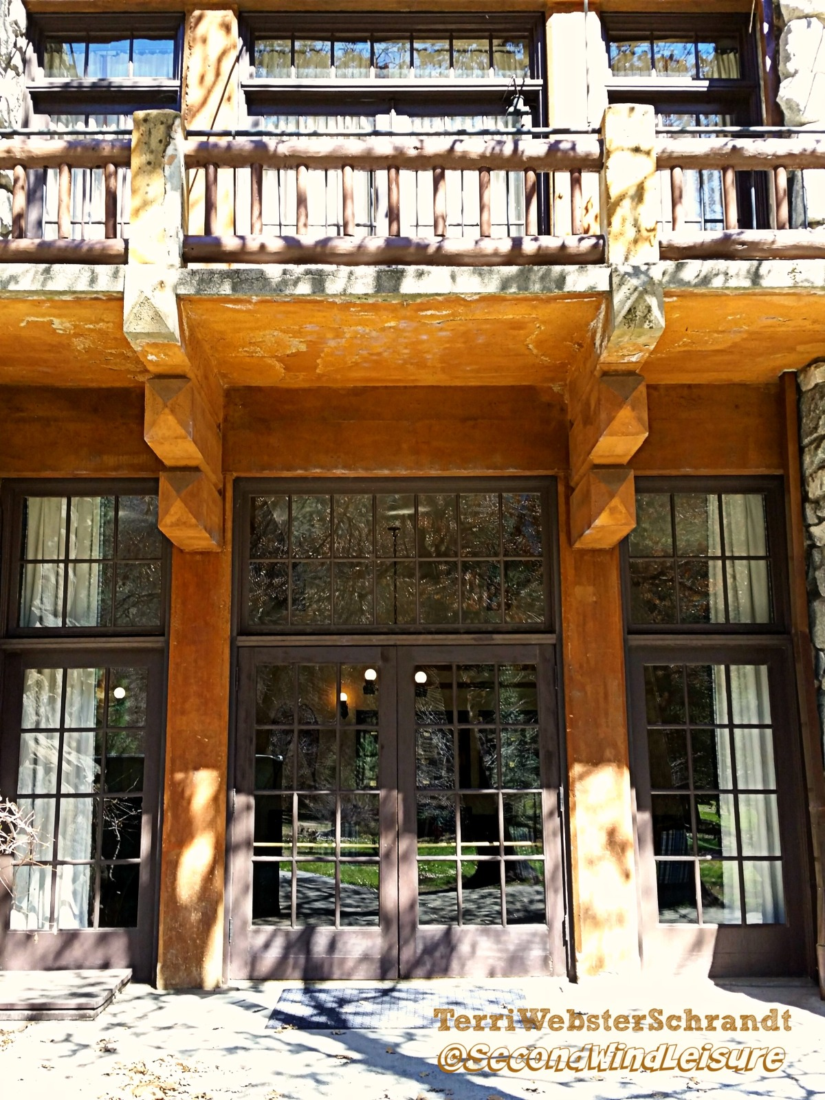 Ahwanee Hotel Patio Doors