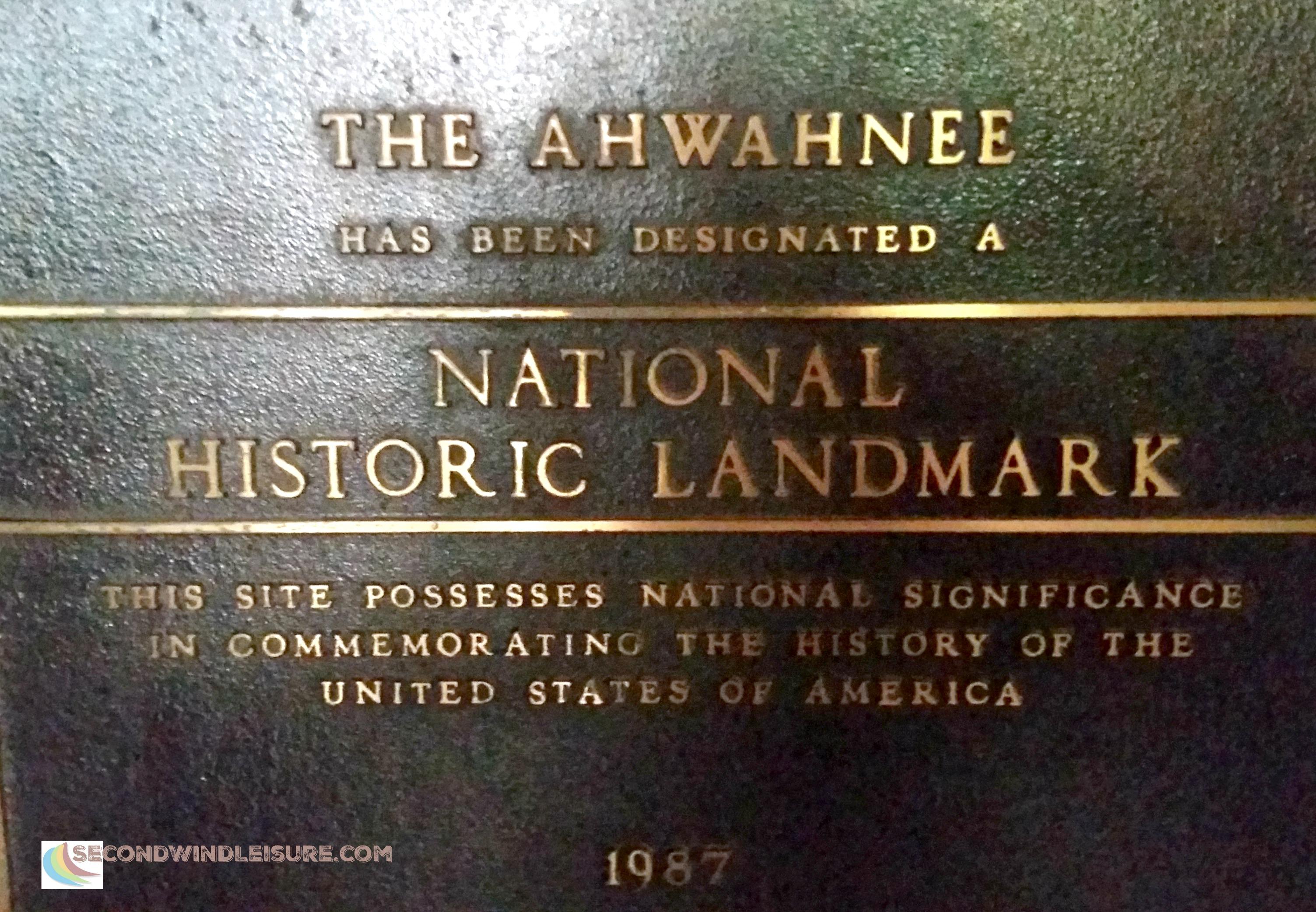 Ahwahnee Hotel national historic landmark