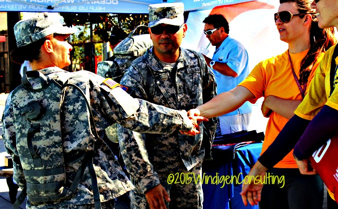 wounded warriors at leisure