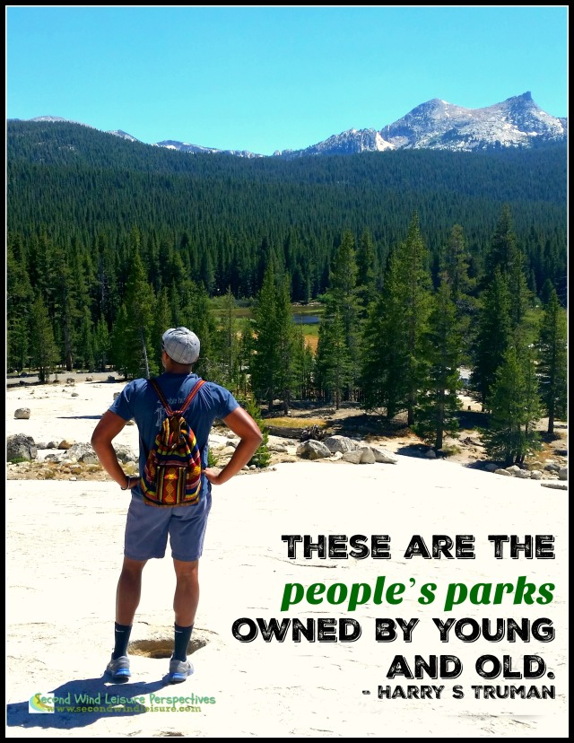 These are the people's parks owned by young and old. - Harry S Truman
