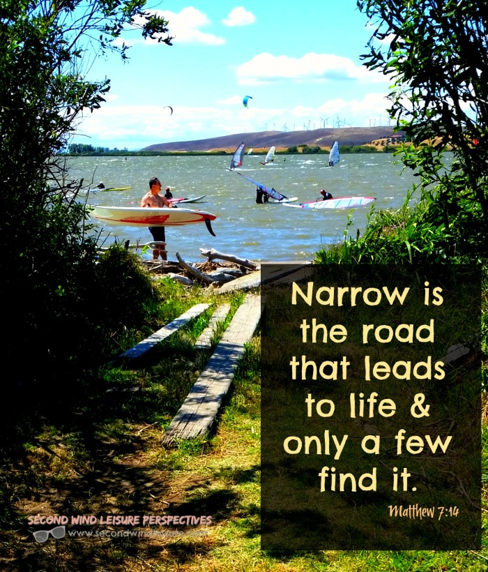 narrow road to windsurfing
