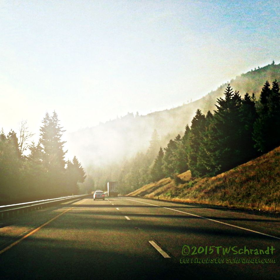 Morning glow on I-5