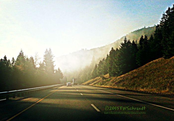 Morning glow on I-5