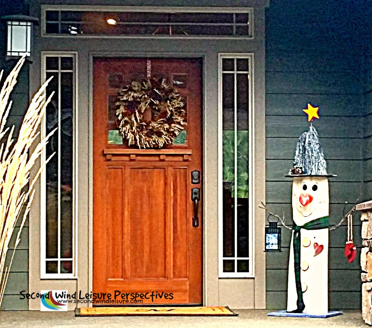 Fall and Christmas come together for Thursday Doors