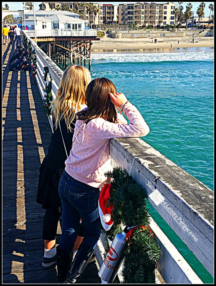 patiently waiting for Christmas in San Diego