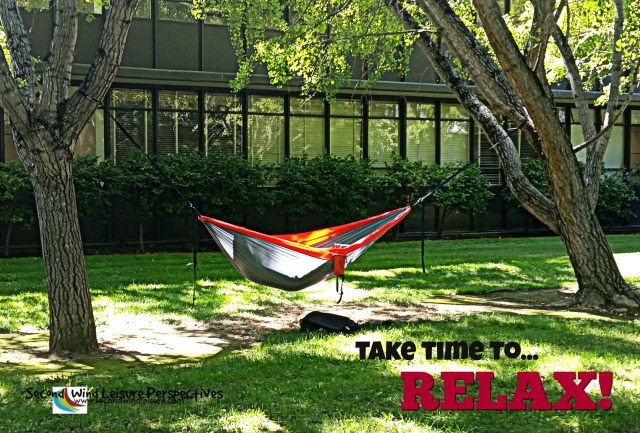 Take time to relax