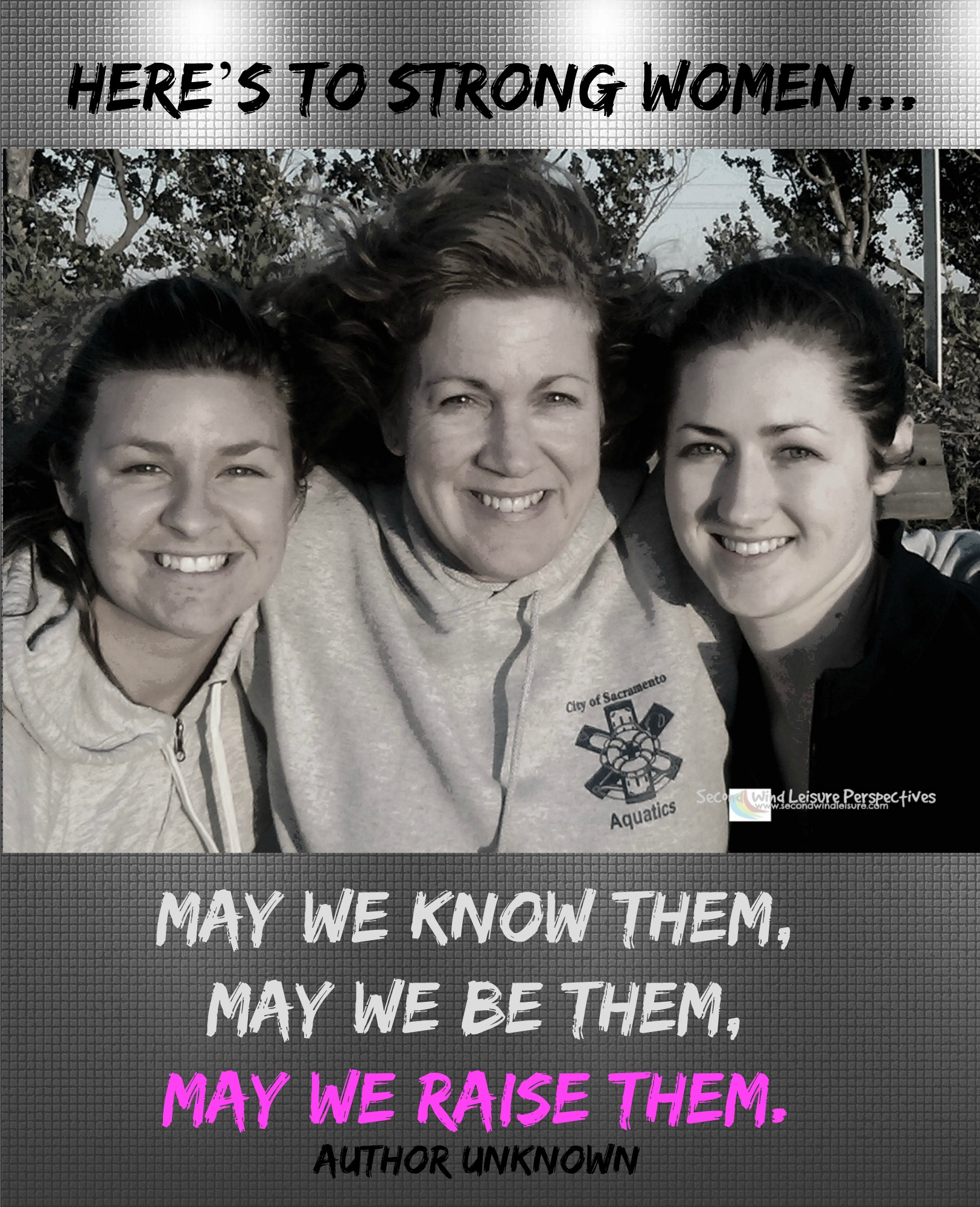 May we know them, may we be them, may we raise them.