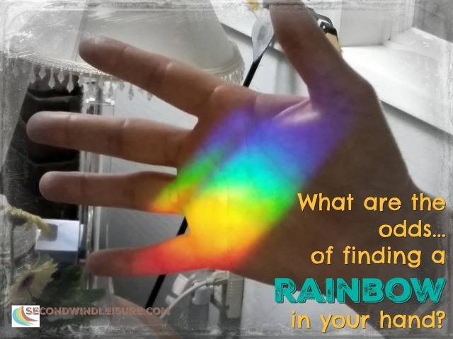 A rainbow in your hand