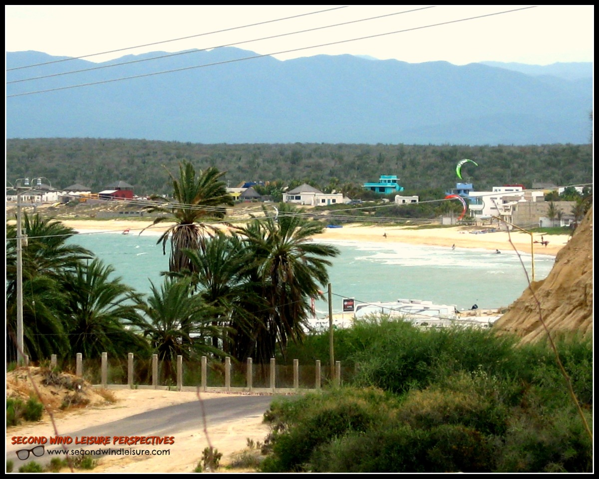 View of La Ventana, home to windsurfing and kiteboarding.