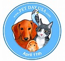 national pet day logo