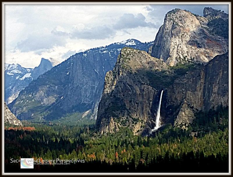 Yosemite Valley with Bridalveil Falls