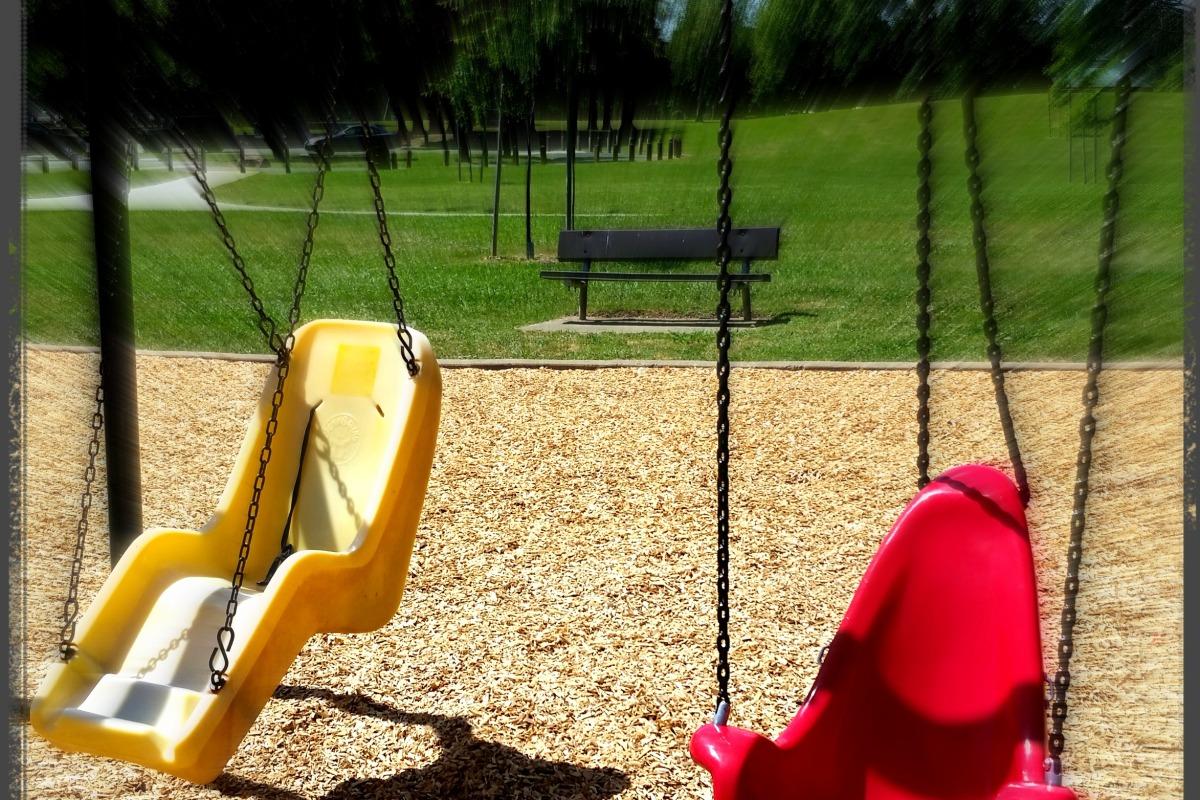 Park Swings begging for children