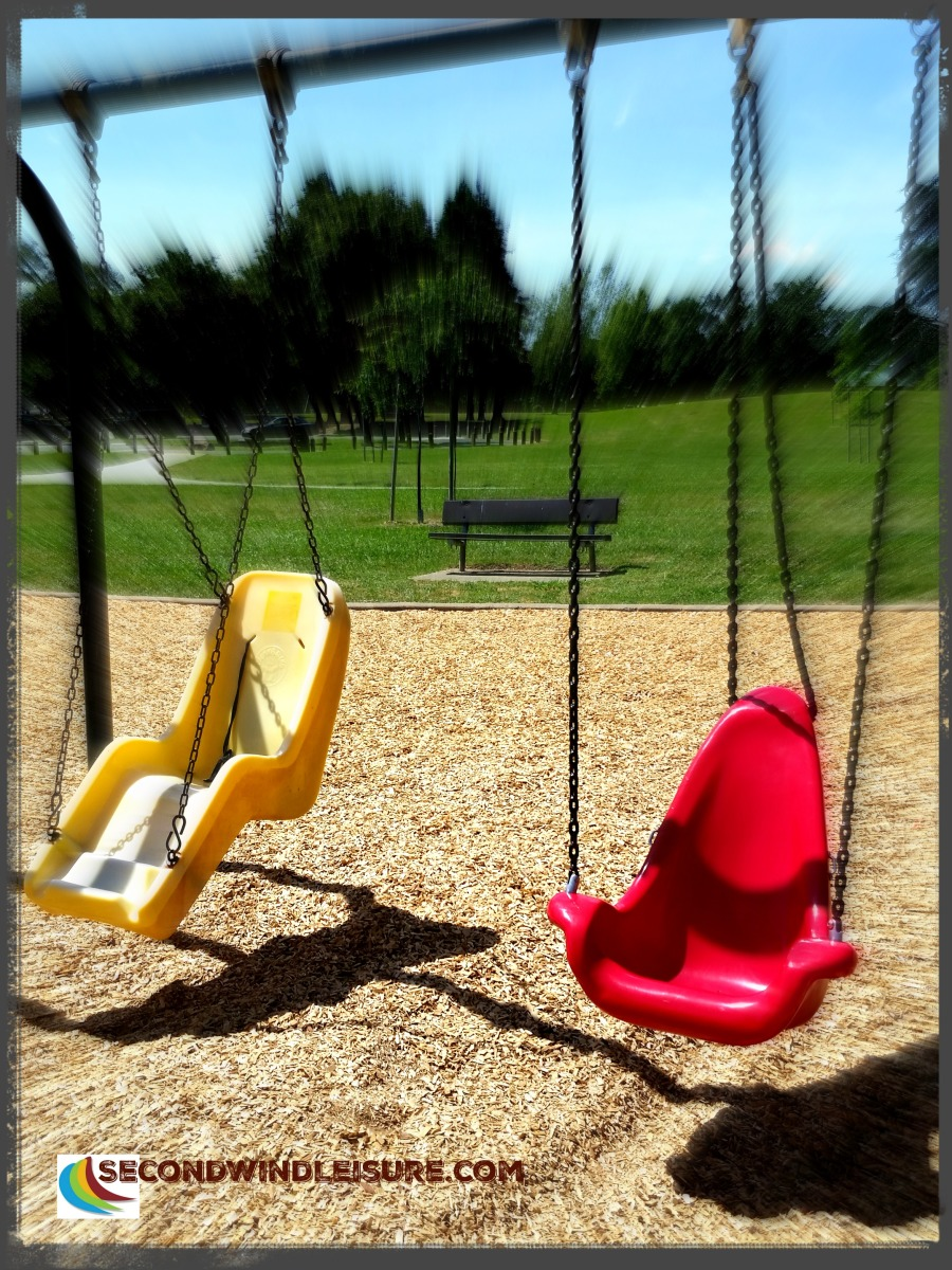 Park Swings begging for children