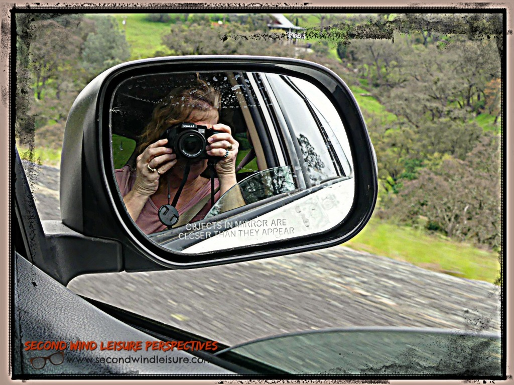 Photographer reflected in the mirror