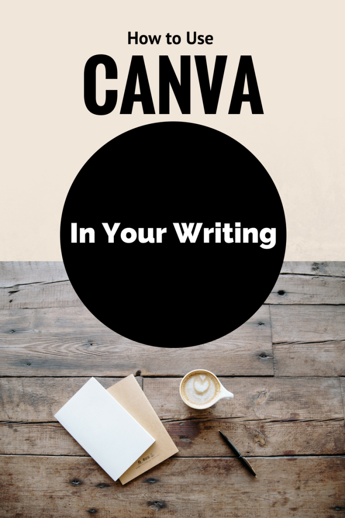 Use CANVA in your writing