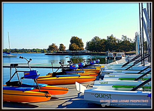 watercraft lined up for leisure