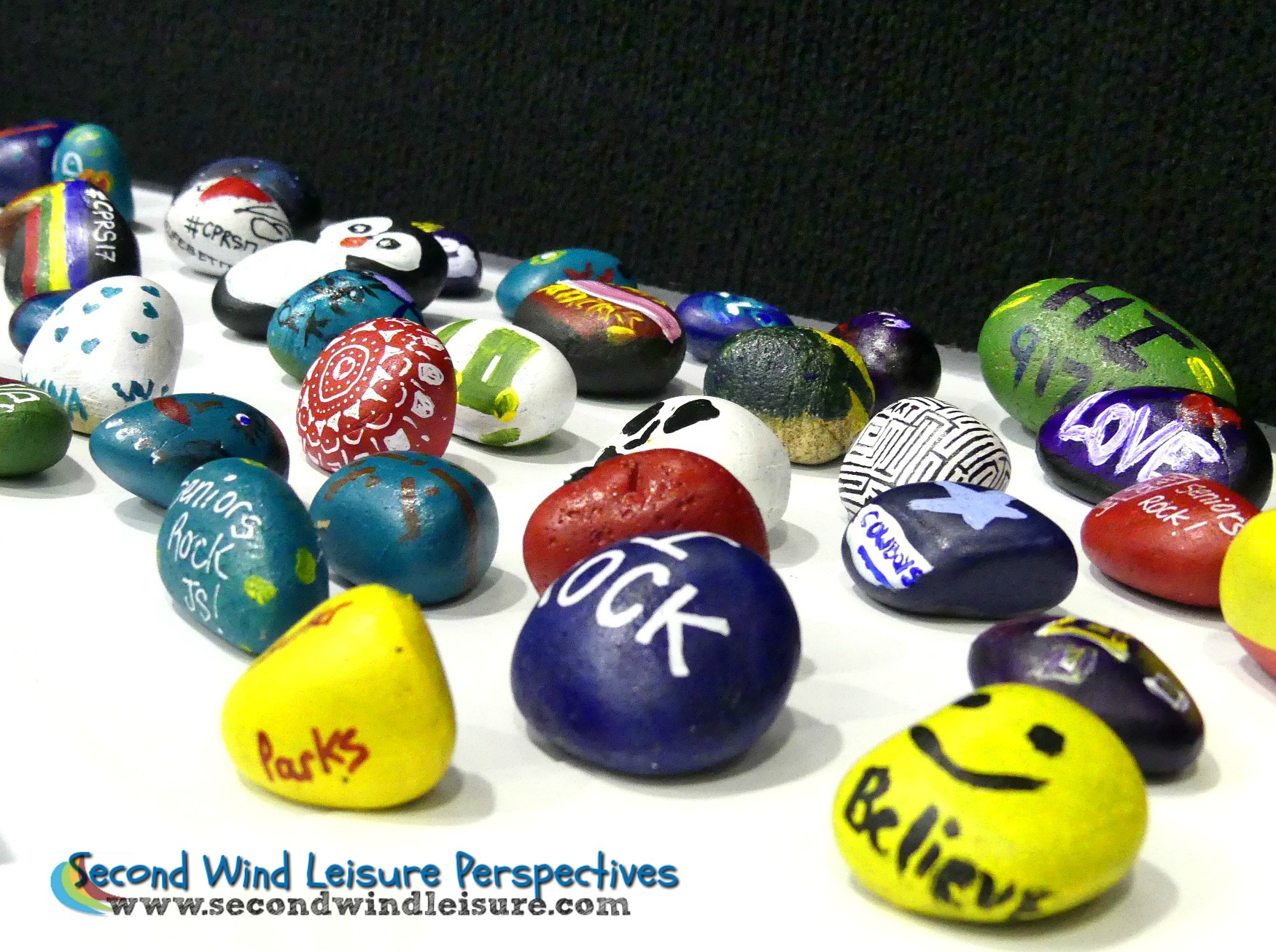 More rocks from the Kindness Rock Project