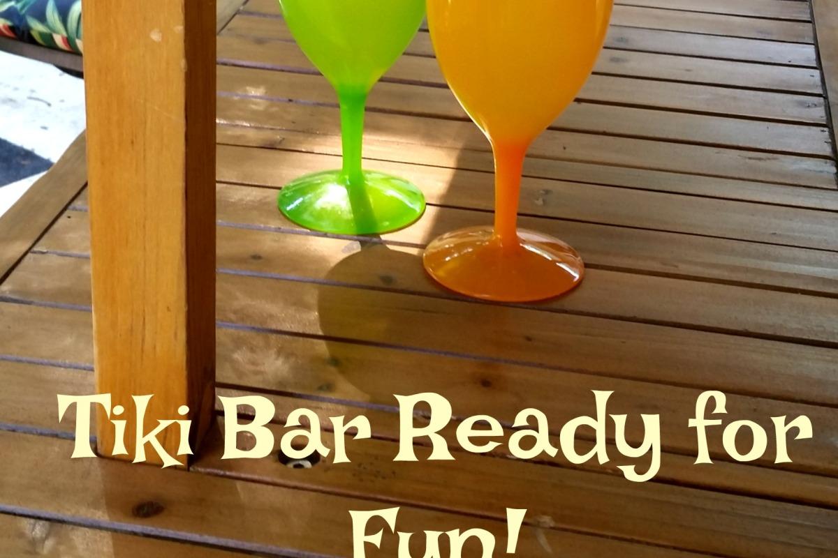 Tiki Bar Ready for Fun