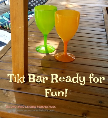 Tiki Bar Ready for Fun
