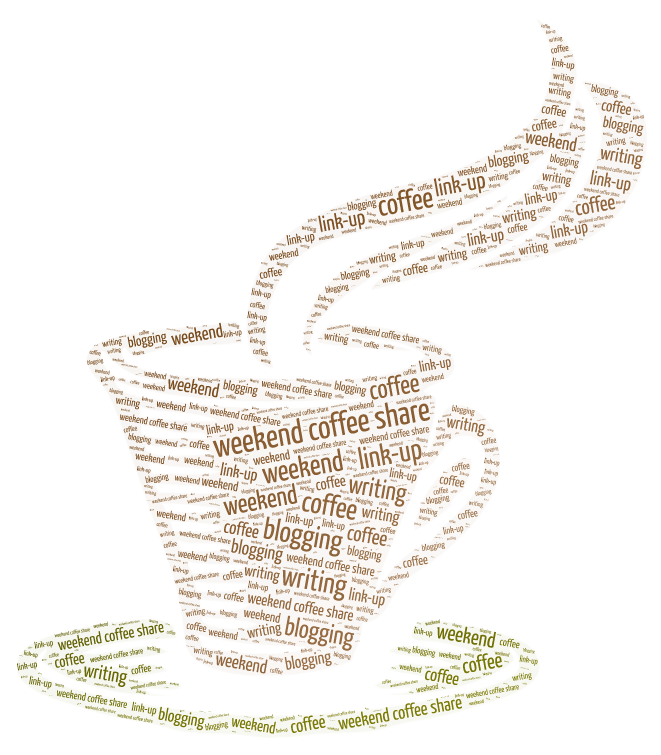 Weekend Coffee Share Word Art