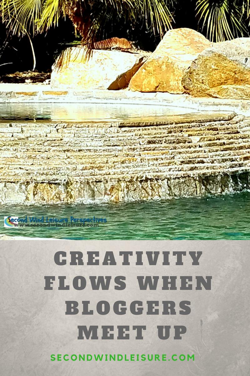 Creativity Flows When Bloggers Meet Up