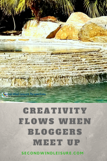 Creativity Flows When Bloggers Meet Up