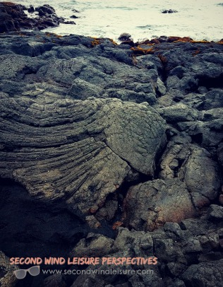 Lava rock weathered over time