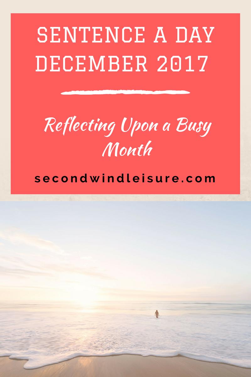 Sentence a Day December