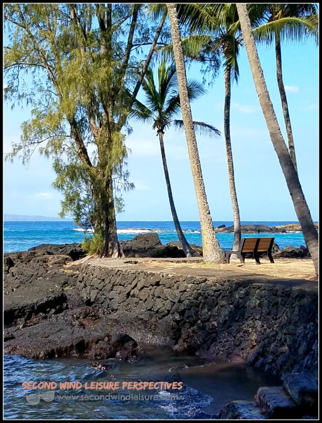 Chair at Hilo Bay
