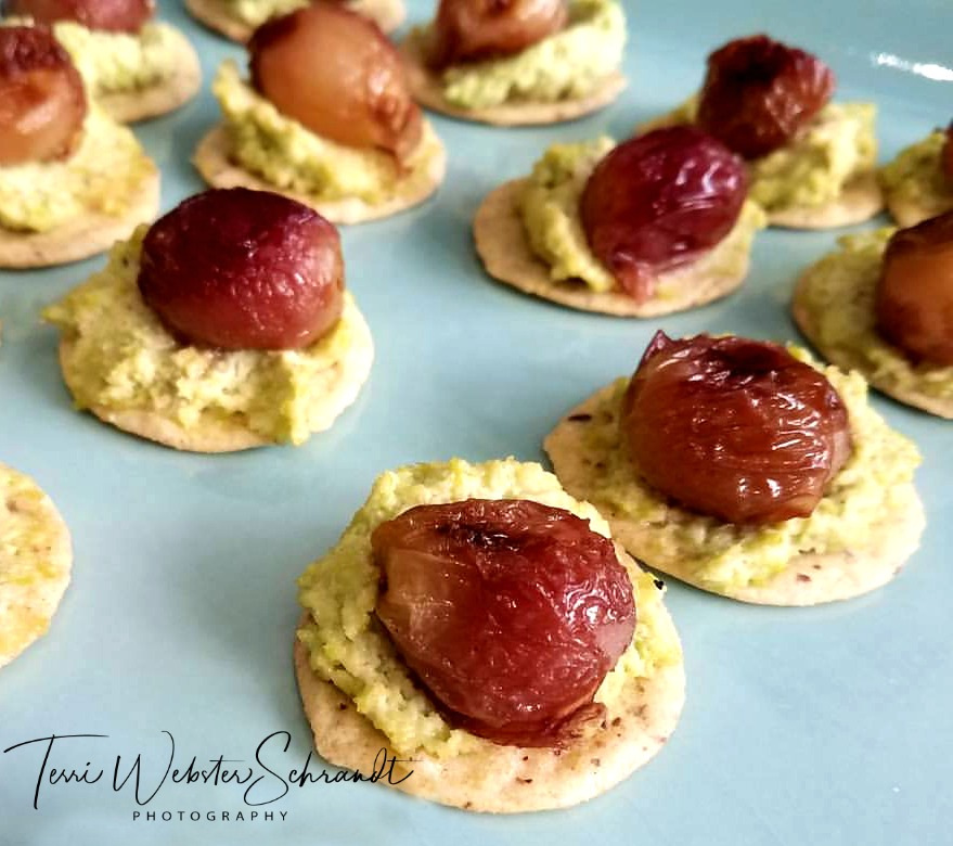 Mouthwatering Aroma of canapes