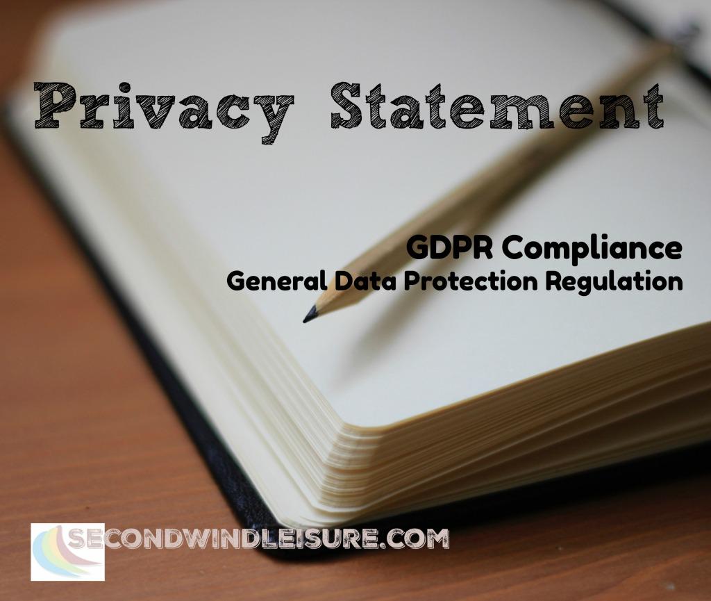 Privacy Statement GDPR