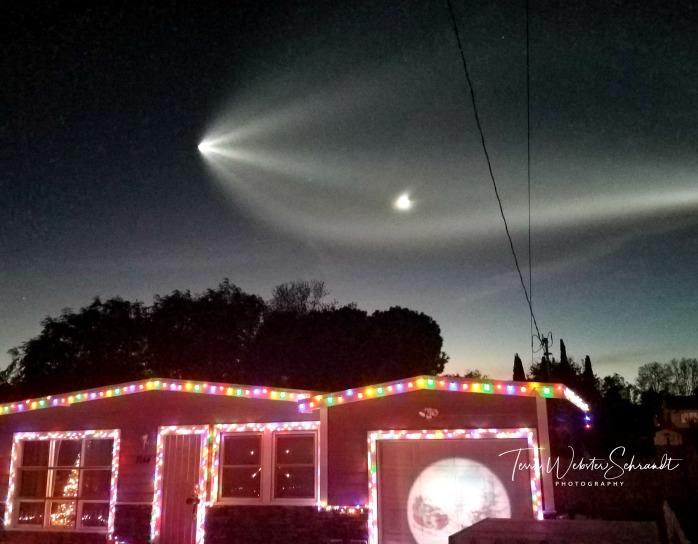 Space X satellite or Santa