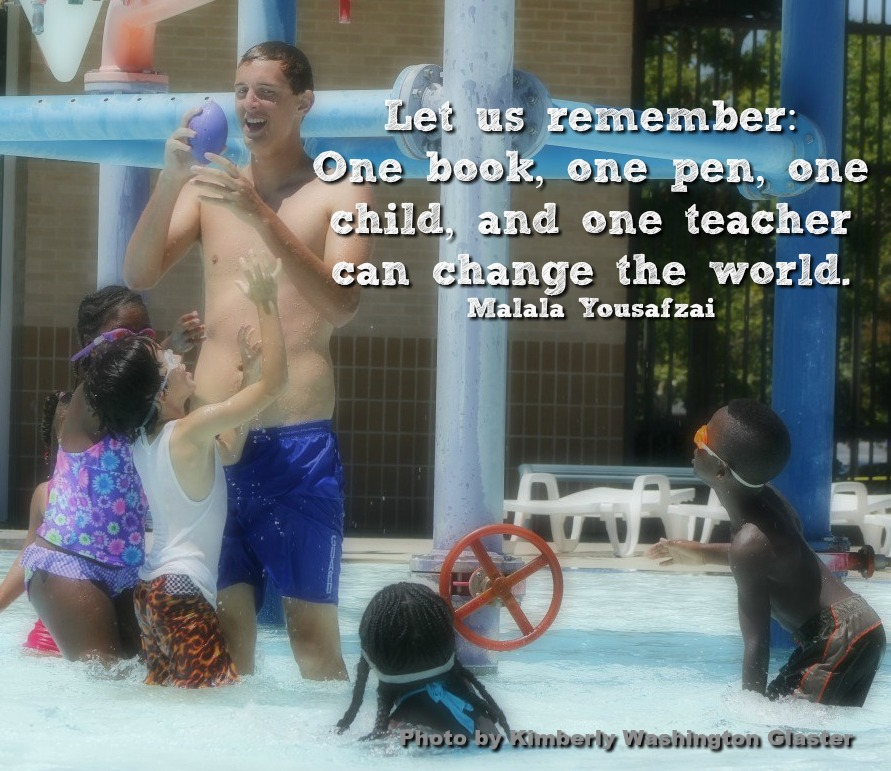One teacher can change the world